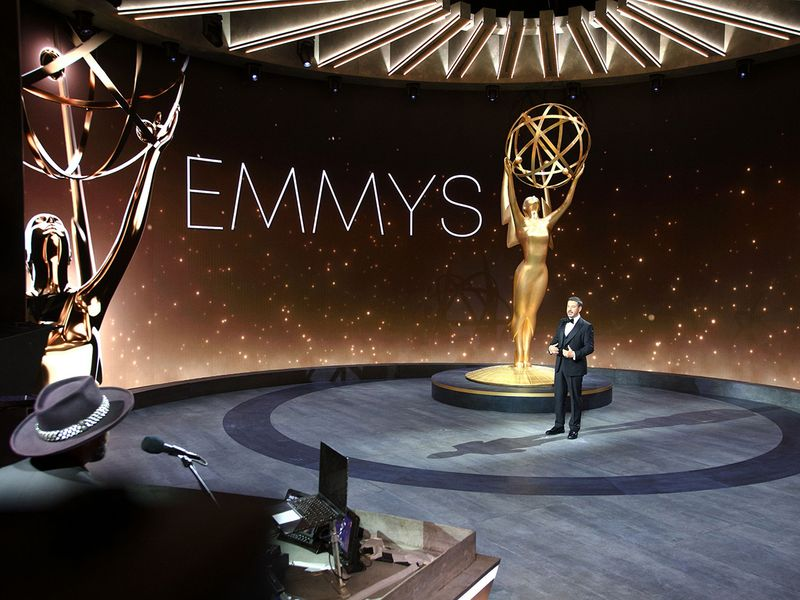 All the Emmy's biggest surprises: Hazmat suits, Friends reunions and more