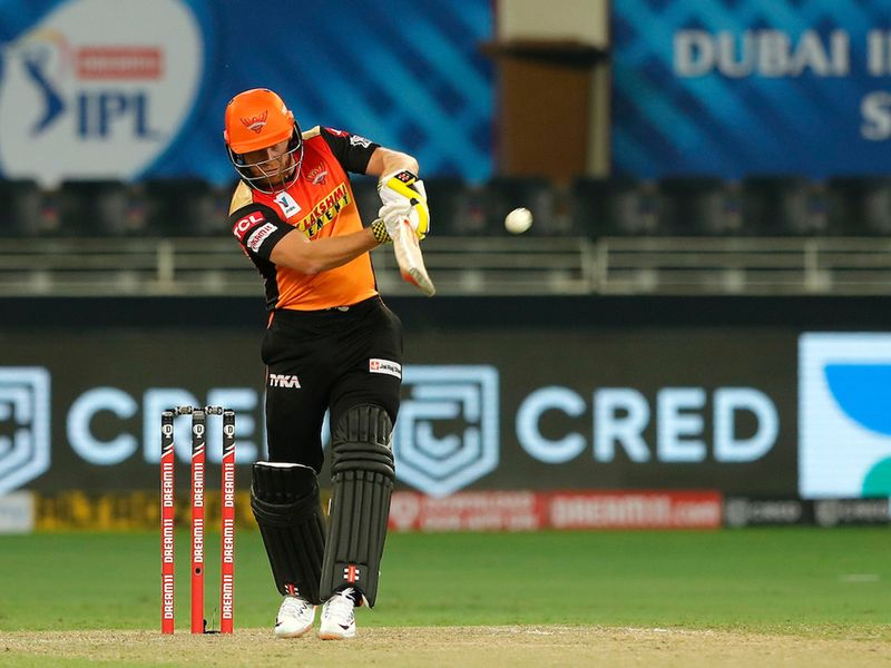 Sunrisers lost Warner cheaply on six runs before Jonny Bairstow and Manish Pandey began to put on the runs.