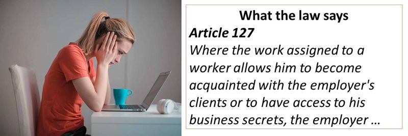 Text of Article 127 of the UAE Labour Law