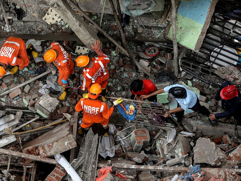 India: Death toll in Bhiwandi building collapse rises to 17