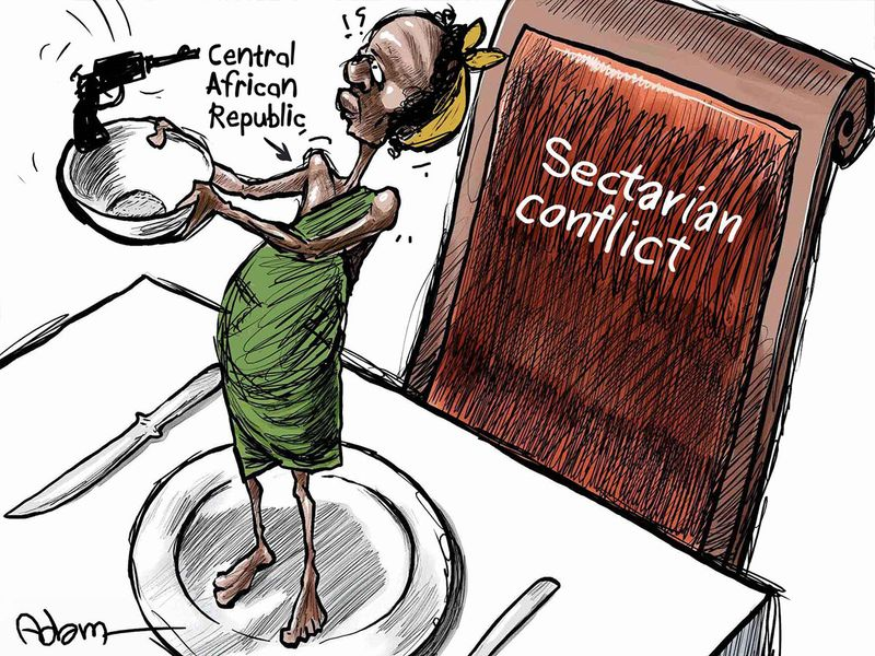 Central-African-Republic-Sectrarian-Conflict