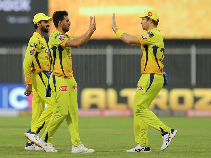 IPL 2020 in UAE: Chennai Super Kings vs Rajasthan Royals in pictures