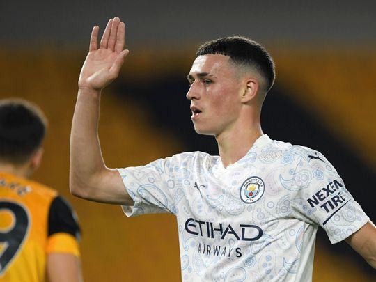 Football-Phil Foden