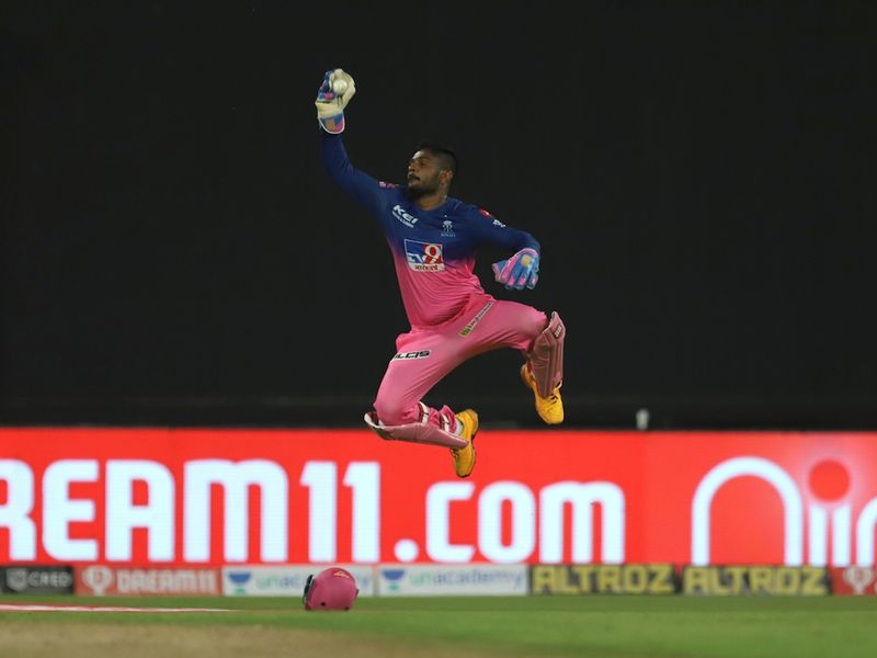 Kedar Jadhav was also back in the pavilion after a great catch from Rajasthan's Sanju Samson. Du Plessis continued to plug away but it was just a matter of time before the Royals won.