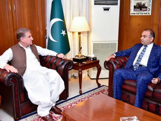 Patron-in-ChiefPakistanHindu Council and MNA Dr Ramesh Kumar Vankwani Foreign Minister Shah Mahmood Qureshi