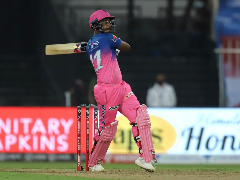 Sanju Samson and skipper Smith soon settled the nerves and got the Rajasthan run rate back on track.