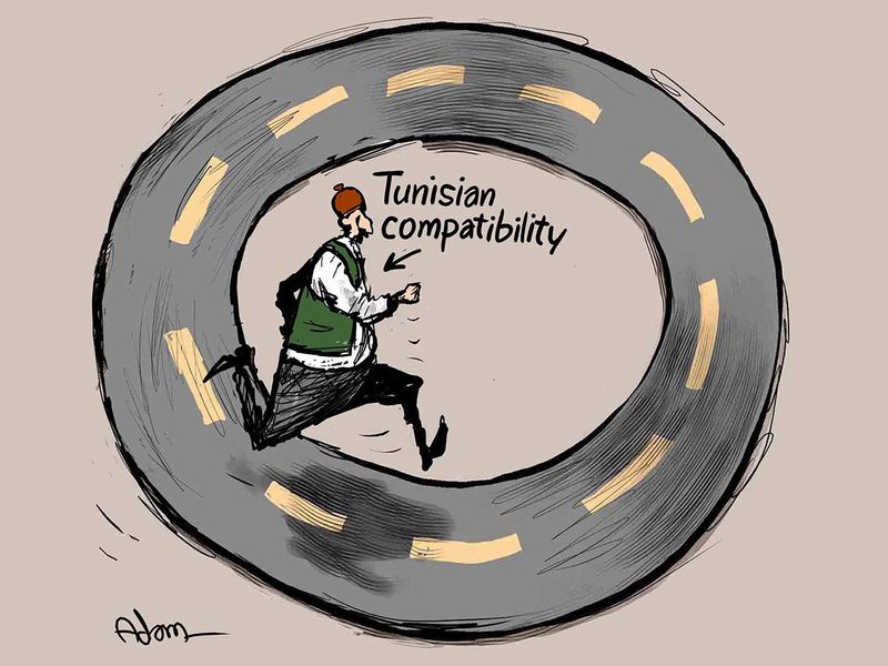 Tunisian-compatibility-running-on-road