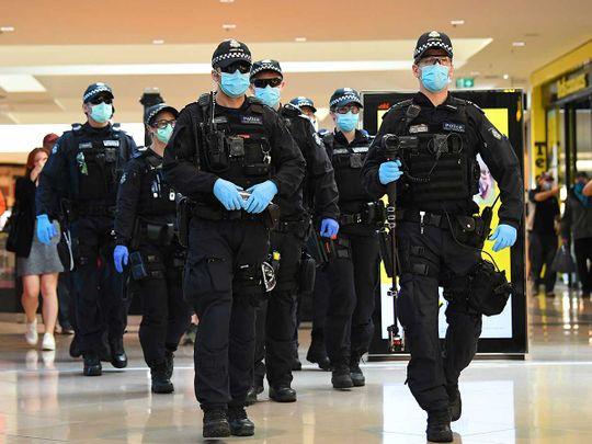 Victoria police Australia covid
