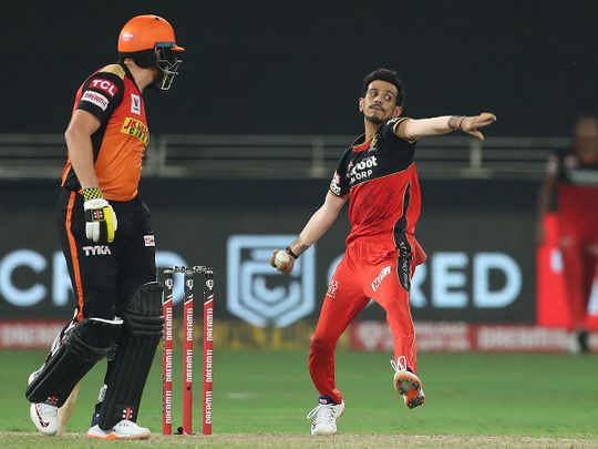 IPL 2020 in UAE: Chahal waves the magic wand for Royal Challengers Bangalore | Ipl – Gulf News