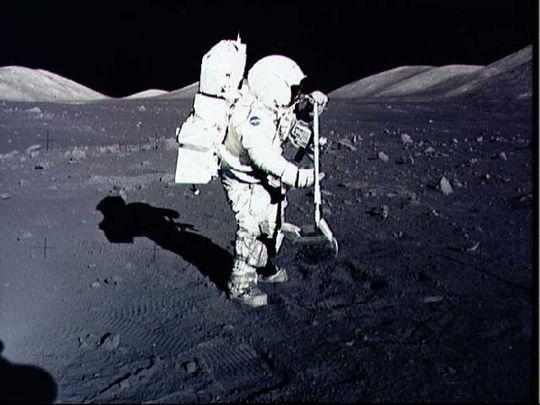 astronaut Harrison Schmitt nasa