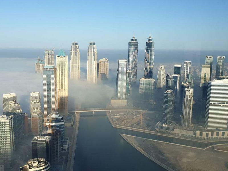 reader gallery fog weather