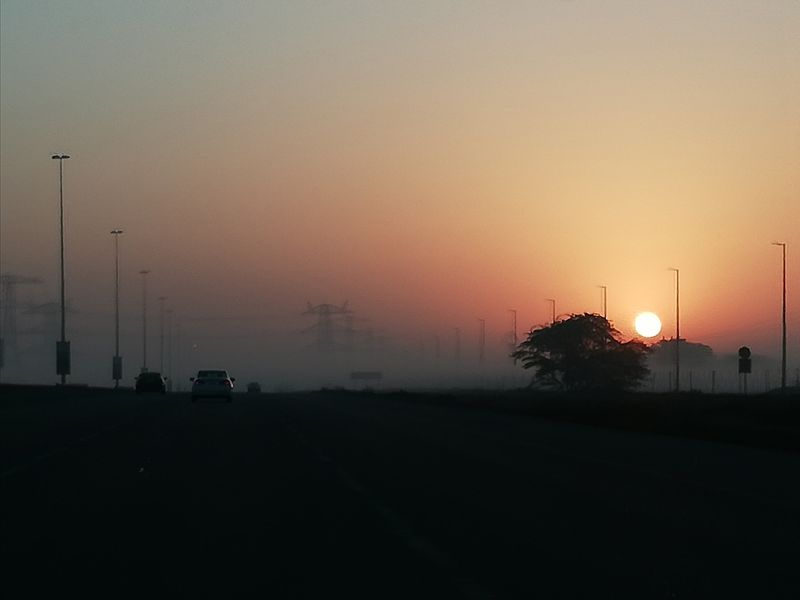 reader picture sunrise ajman weather
