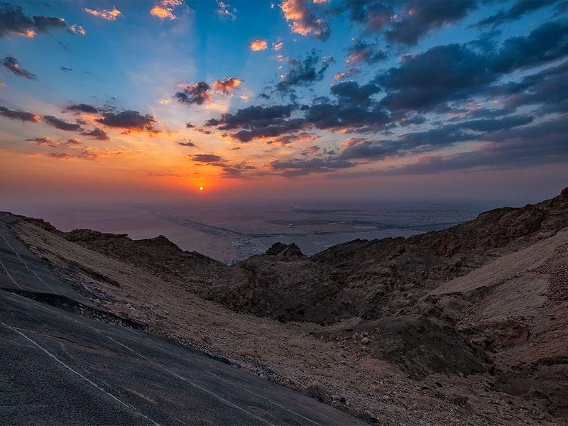 Jebel Hafeet mountain Al Ain
