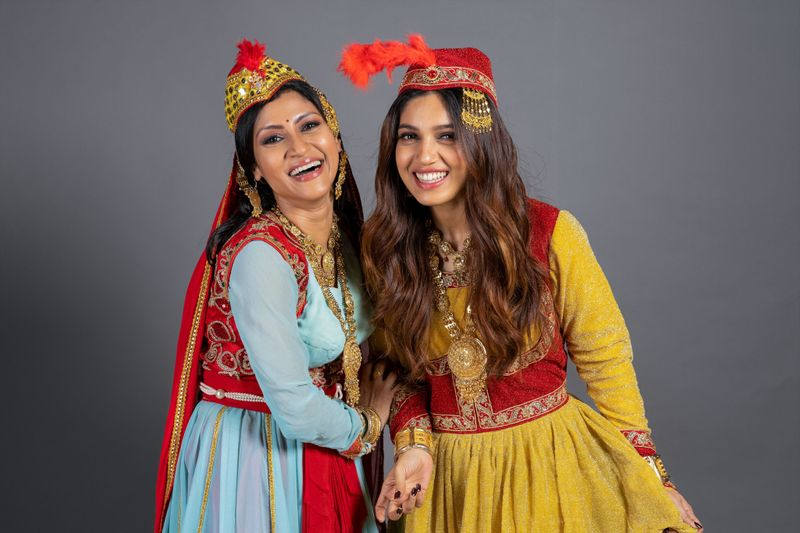 Konkona Sen Sharma and Bhumi Pednekar for DOLLY KITTY AUR WOH CHAMAKTE SITARE-1600860126471
