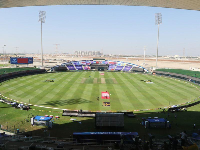 Sheikh Zayed Stadium in Abu Dhabi