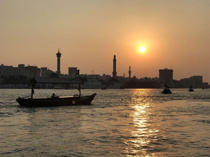 Sun Set in Deira