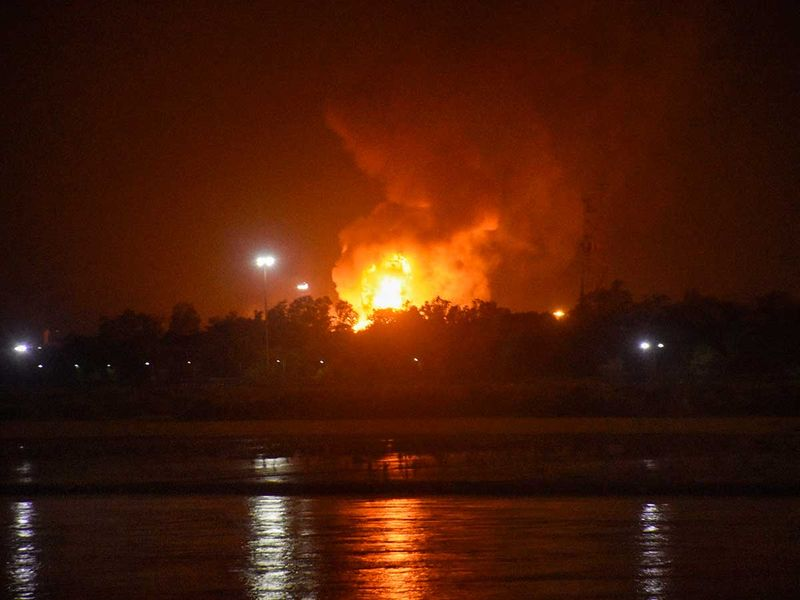 India ONGC douses fire, gas supplies to industries hit