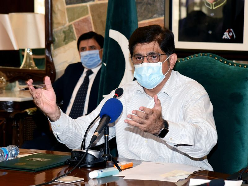 Pakistan: Sindh Chief Minister protests against federal government