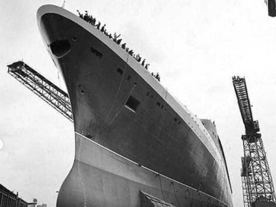The QE2 in 1967