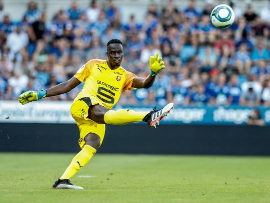 Rennes goalkeeper Edouard Mendy has signed for Chelsea