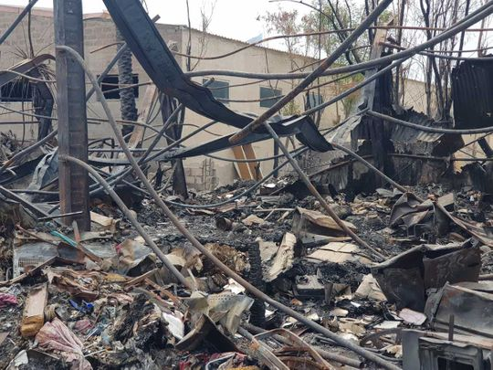 20200925 warehouse fire