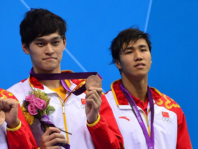 China Olympic swimmer