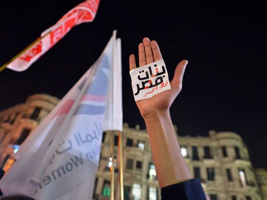 Egypt rape protest