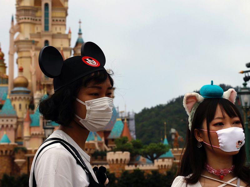 HK Disneyland reopens