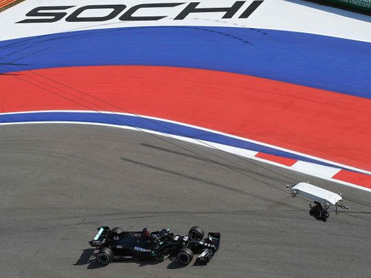 Lewis Hamilton hopes to make history at Sochi in the Russian Grand Prix