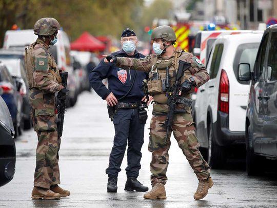 Stabbing pARIS France