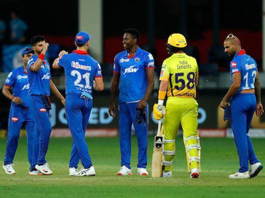IPL 2020 in UAE: Delhi Capitals thrust 44-run defeat on Chennai Super Kings – As it happened | Ipl – Gulf News