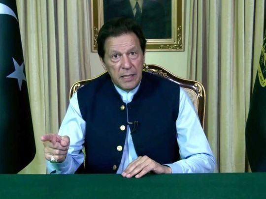 Imran Khan Pakistan UN