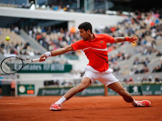 Novak Djokovic is prepared for a tough time at the french Open