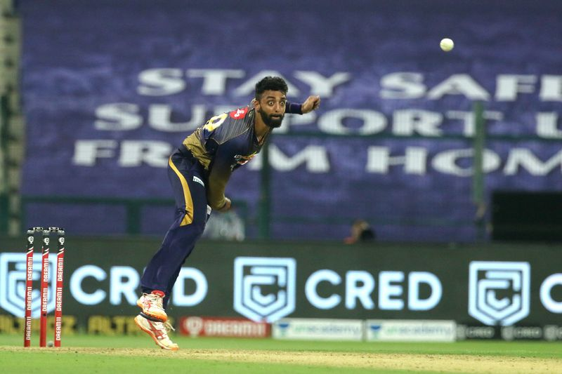 Varun Chakaravarthy of Kolkata Knight Riders