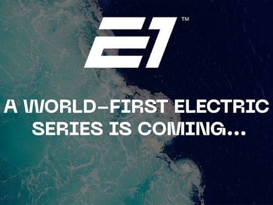 E1 World Electric Powerboat series