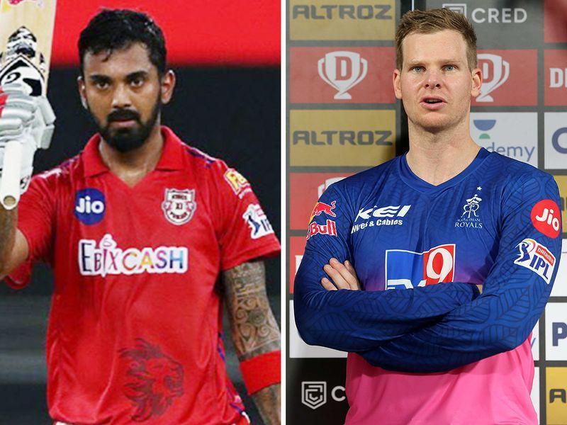 KL Rahul and Steve Smith