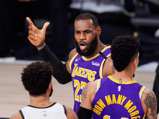 LeBron James and the Lakers are in the NBA finals