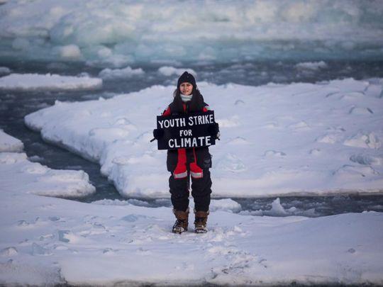 Mya-Rose Craig stages climate change protest