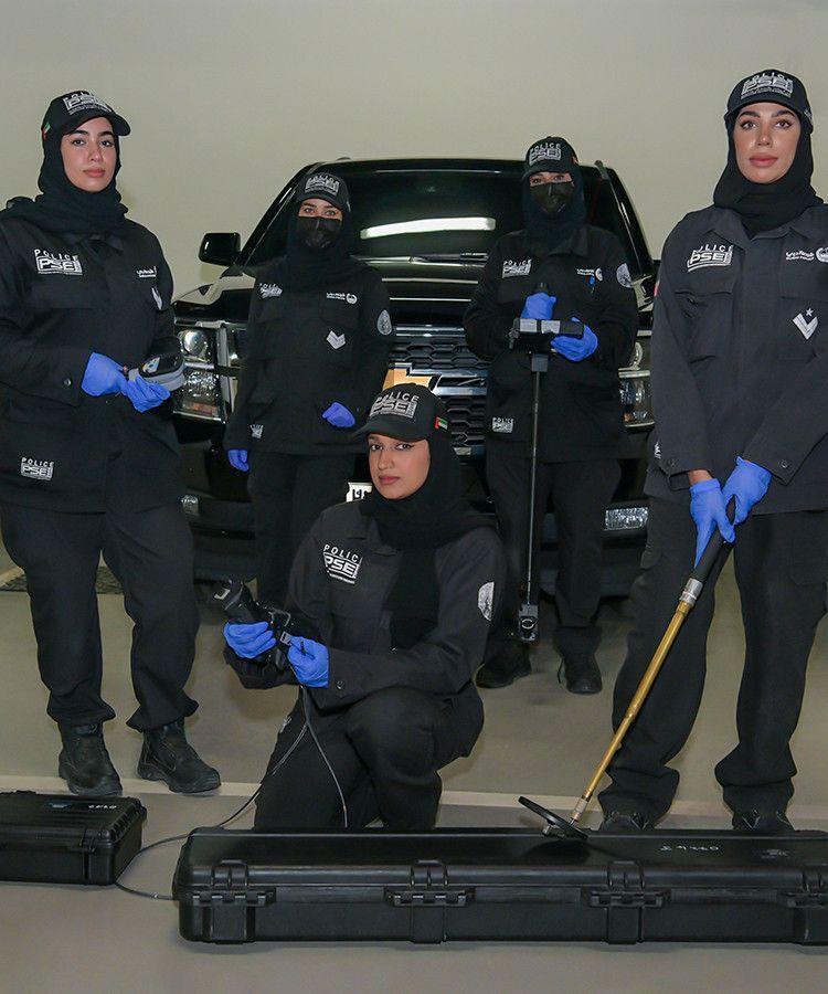 NAT Dubai Police female explosives team 1-1601219818812