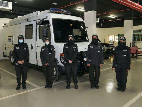 NAT Dubai Police female explosives team-1601219816863