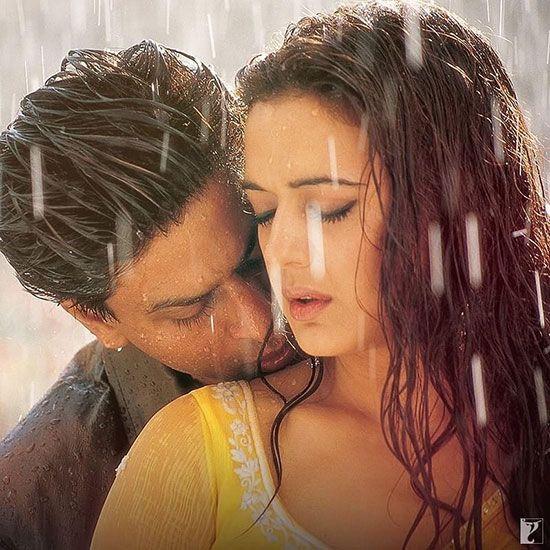 Priety Zinta and Shahrukh Khan Veer Zara