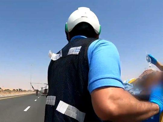Air ambulance in Ras Al Khaimah