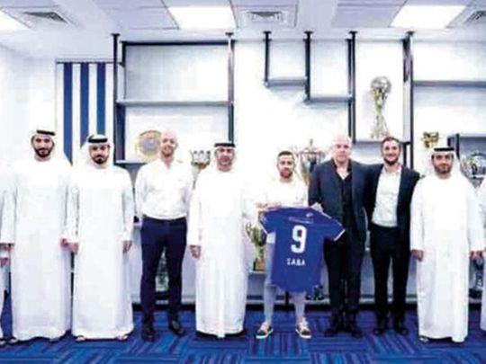 Al Nasr have signed Dia Saba