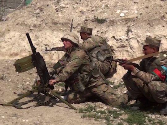 Azerbaijani Defence Ministry Nagorno Karabakh