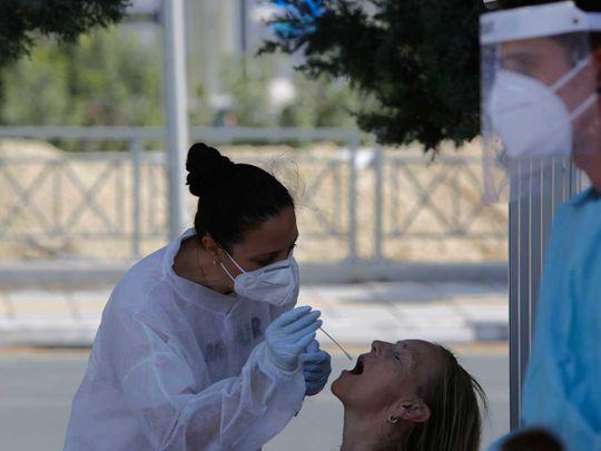 Cyprus Larnaca coronavirus