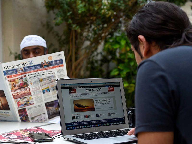 Gulf News print and web