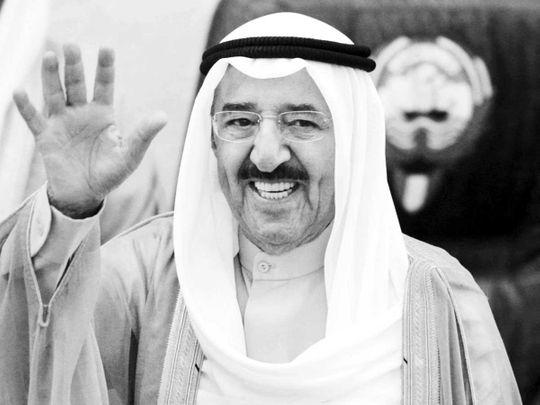 20200930 Kuwait's Emir Sheikh Sabah Al Ahmad Al Jaber