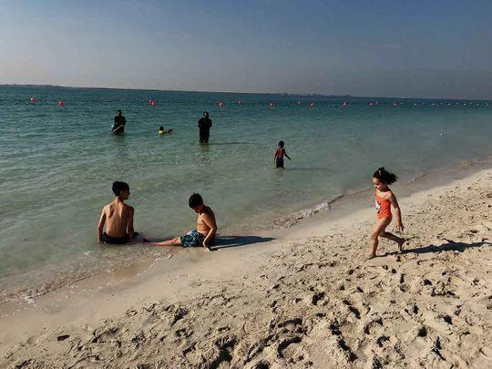 Beach in UAE