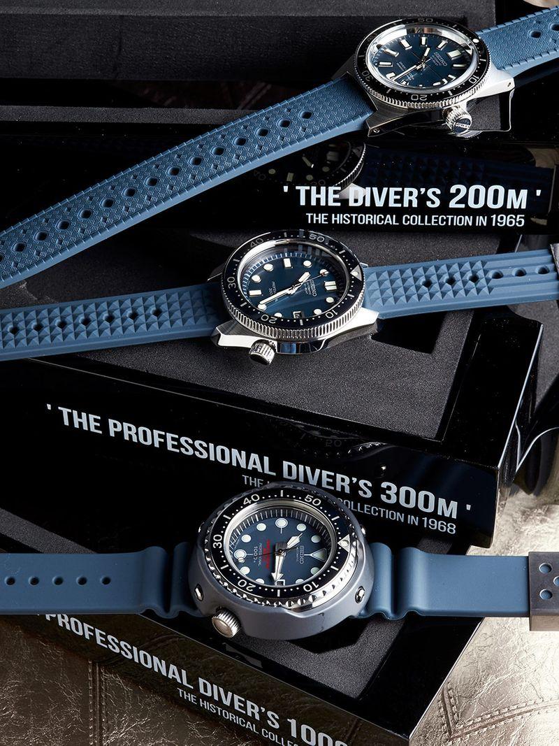 Seiko-55th-Anniversary-Diver's-Trilogy_SLA037_SLA039_SLA041_vertical