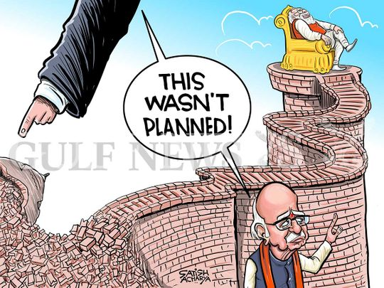 Cartoon From Satish Babri Verdict Out In India Cartoons Gulf News